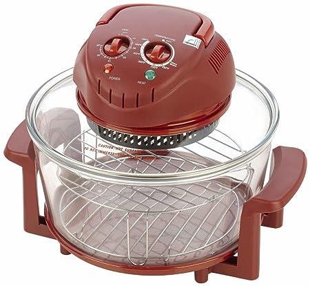 Fagor halógena de mesa horno; Rojo: Amazon.es: Hogar