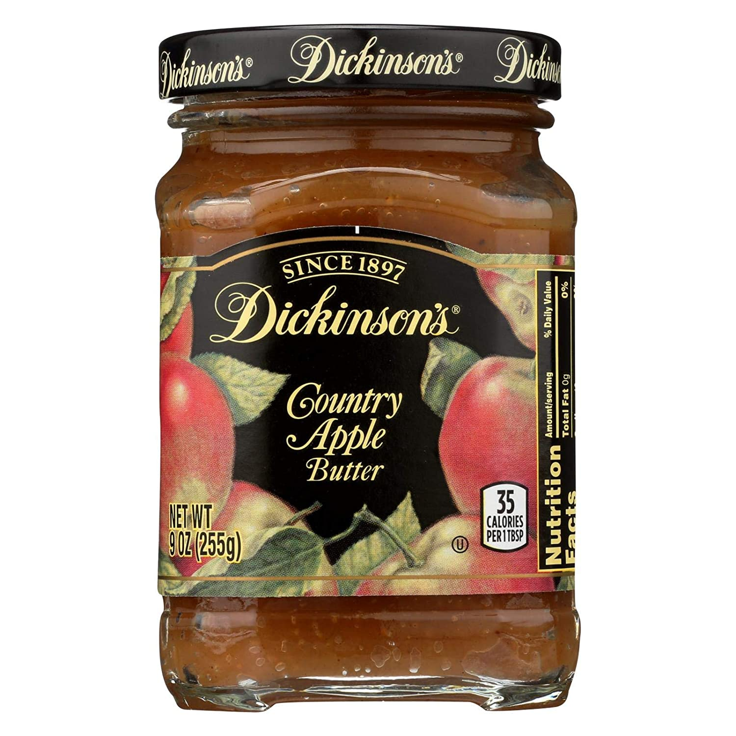 Dickinson's Apple Butter, 9-Ounce (Pack of 6)