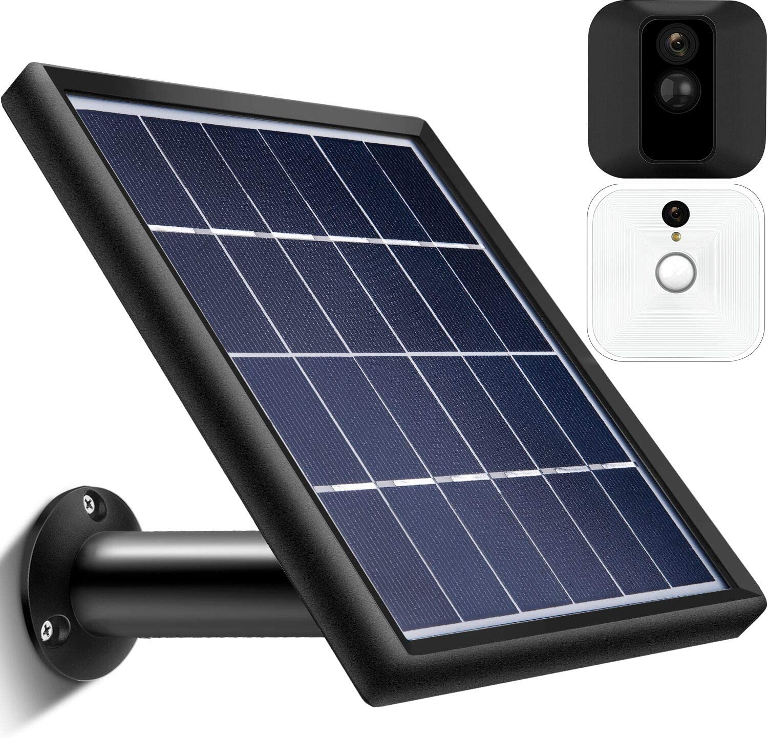 Solar Panel Compatible with Blink XT XT2 Outdoor Indoor Security Camera