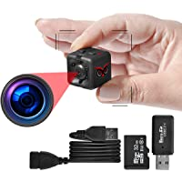 RED OWL EYES Spy Camera - Mini Hidden Camera 1080P Night Vision - Easy to Use Mini Camera Spy Wireless - Spy Cam Motion…