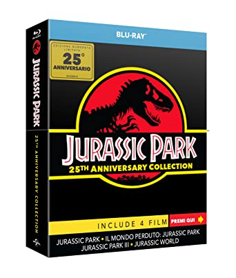 Jurassic Collection: The Gate Limited Edition 4 Blu-Ray Italia Blu ...