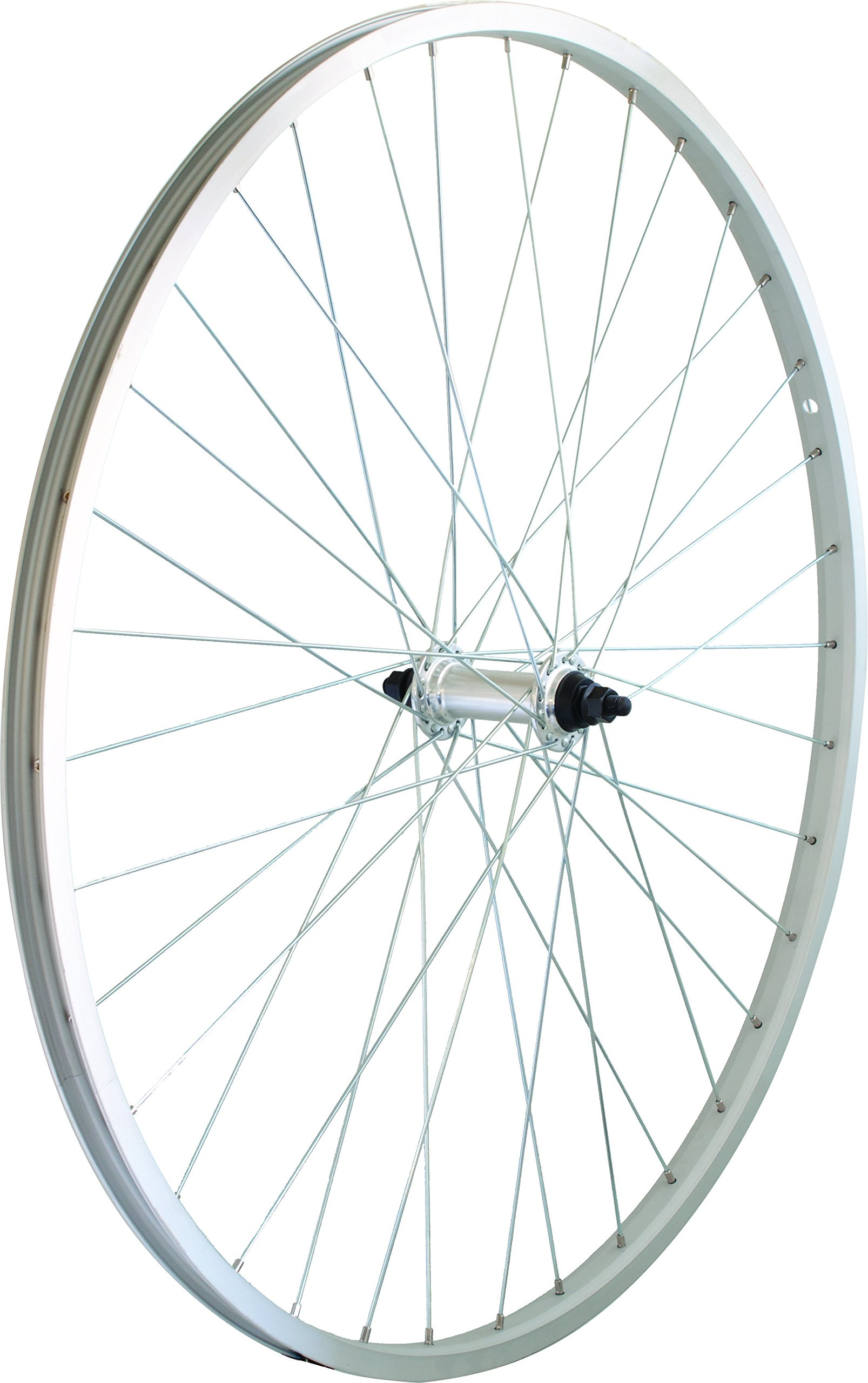 Wheel Al 27X1-1/4 Front Action Bolt-On Ucp Silver