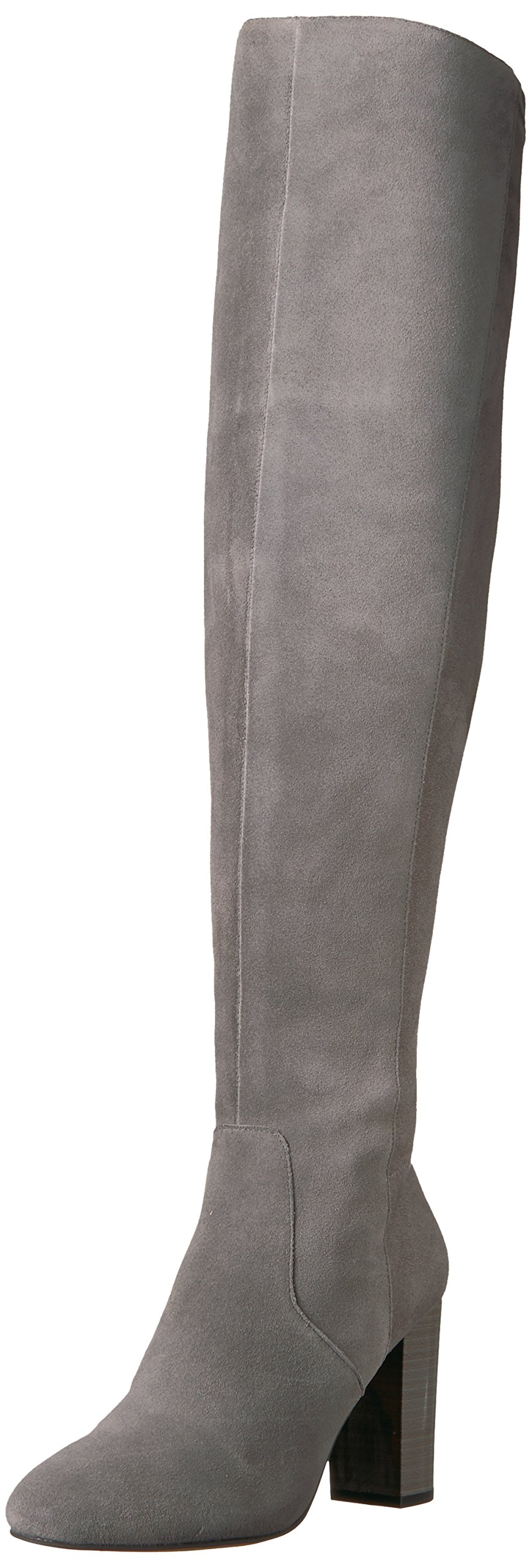 The Fix Women's Lyndsey Over-The-Knee Block-Heel Boot, Elephant Grey, 6.5 M US by The Fix (Image #1)