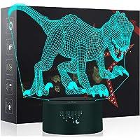 Luz de la Noche del Dinosaurio 3D, LED