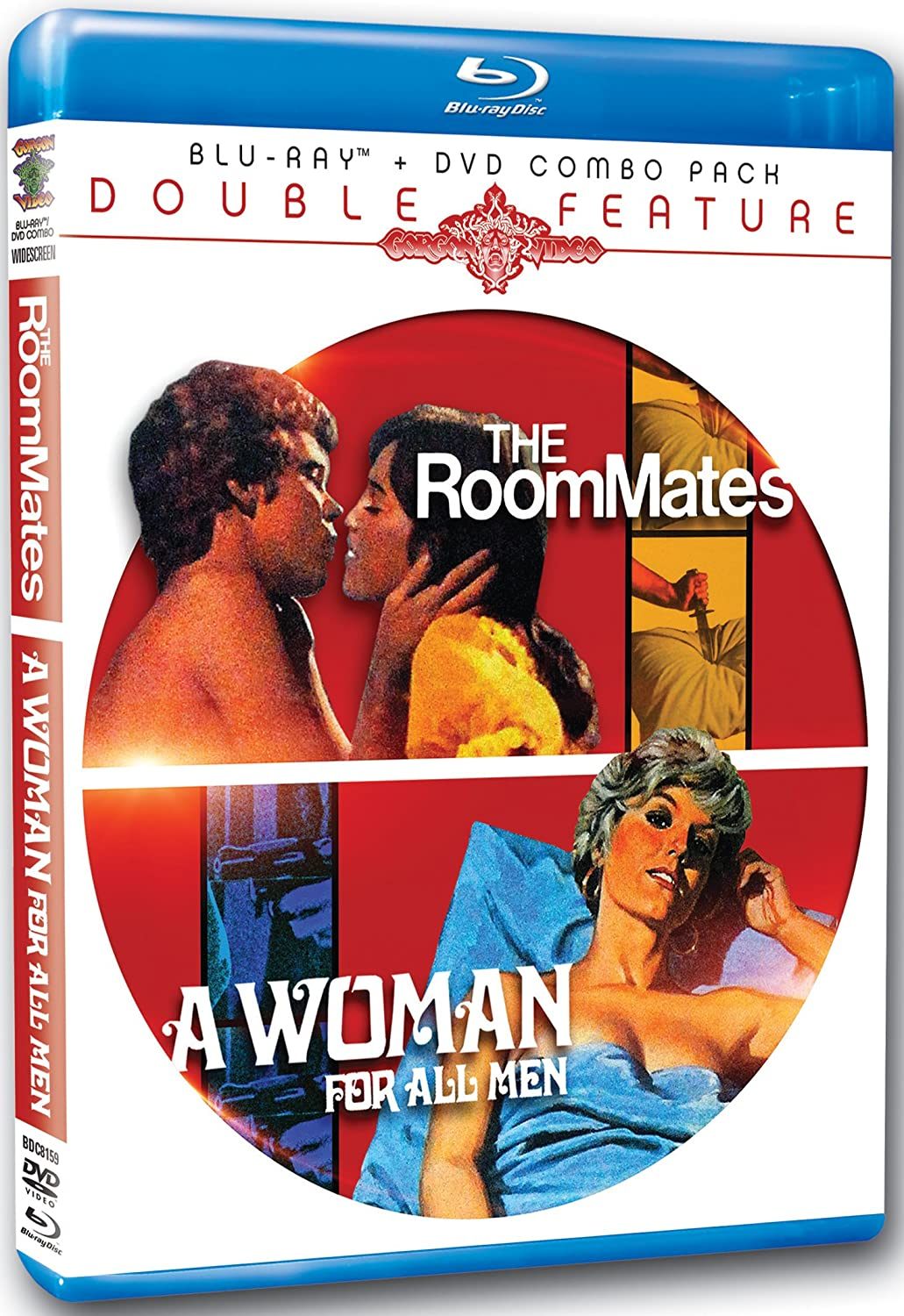 Blu-ray +DVD The Roommates A Woman For All Men