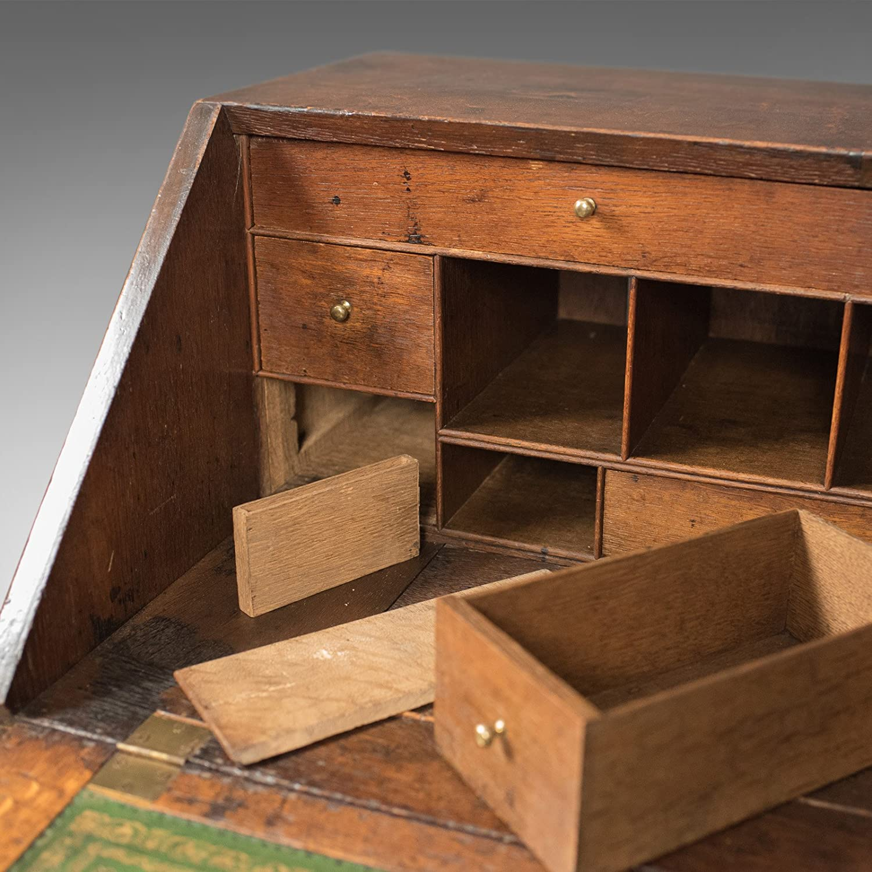 London Fine Antiques Antiguo Secreto de Mesa con cajones ...