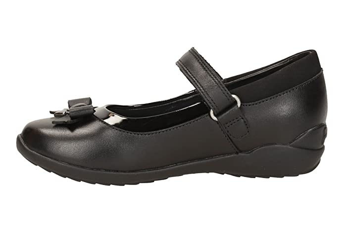 f19ccf69c Clarks Ting Fever Junior Girls Mary Jane School Shoes  Amazon.co.uk  Shoes    Bags