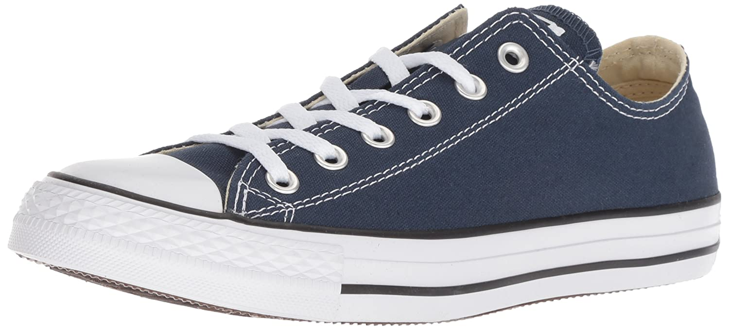 Converse Chuck Taylor All Star Seasonal OX, Unisex-Erwachsene Sneakers  41 EU|Blau (Navy)