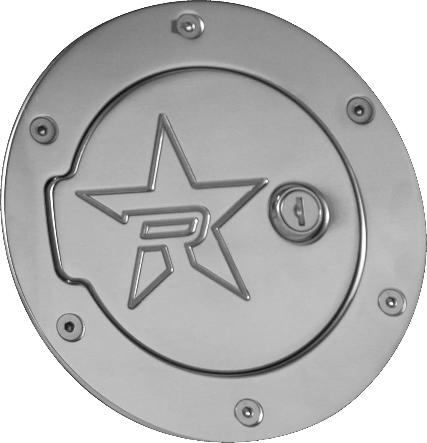 RBP RBP-6041PL-RX2 Polished Aluminum Locking Fuel Door