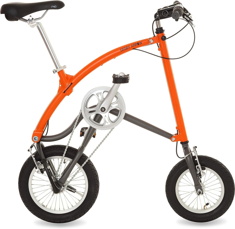 Ossby Arrow Bicicleta Plegable Talla /Única Naranja Unisex Adulto