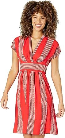 ANNE KLEIN Women's V-Neck Belted Waist WRAP Dress