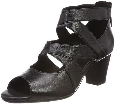 schwarz Gerry Weber Schuhe Sandalette Lotta 14 G13014-852100 schwarz NEU