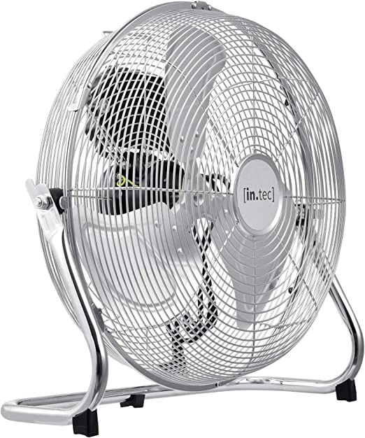 in.tec] Ventilador de Suelo 42x43,5x18cm Máquina de Viento ...