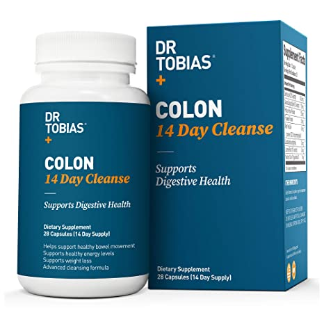 Optimum Colon: 14 Days Quick Cleanse to Support Detox, Weight Loss & Increased Energy