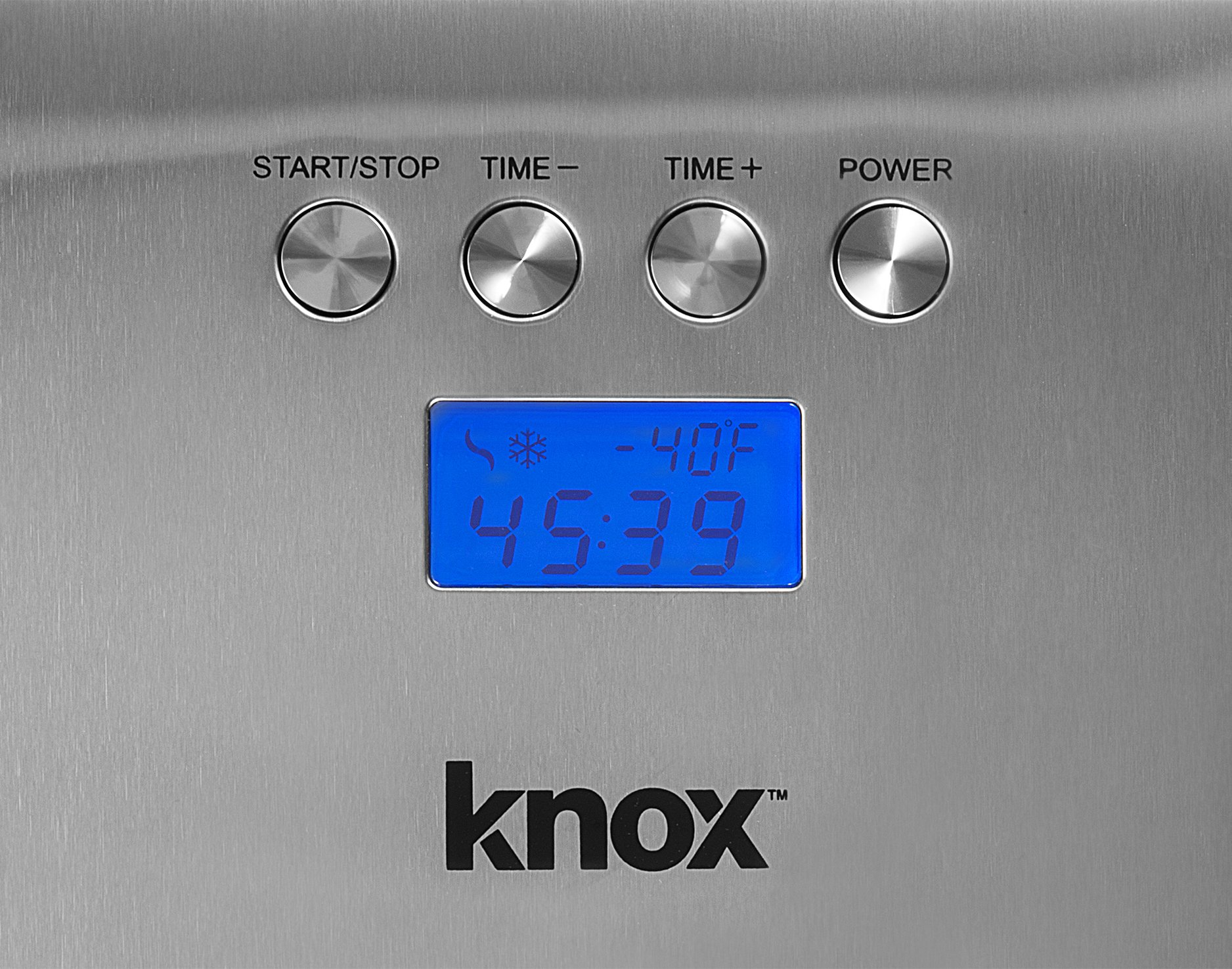 Knox Automatic Ice Cream Maker - Makes Sorbet, Gelato and Frozen Yogurt Without ''Freezer Bowl'' - Commercial Grade Compressor - 1.5 Quart Bowl by Knox (Image #5)