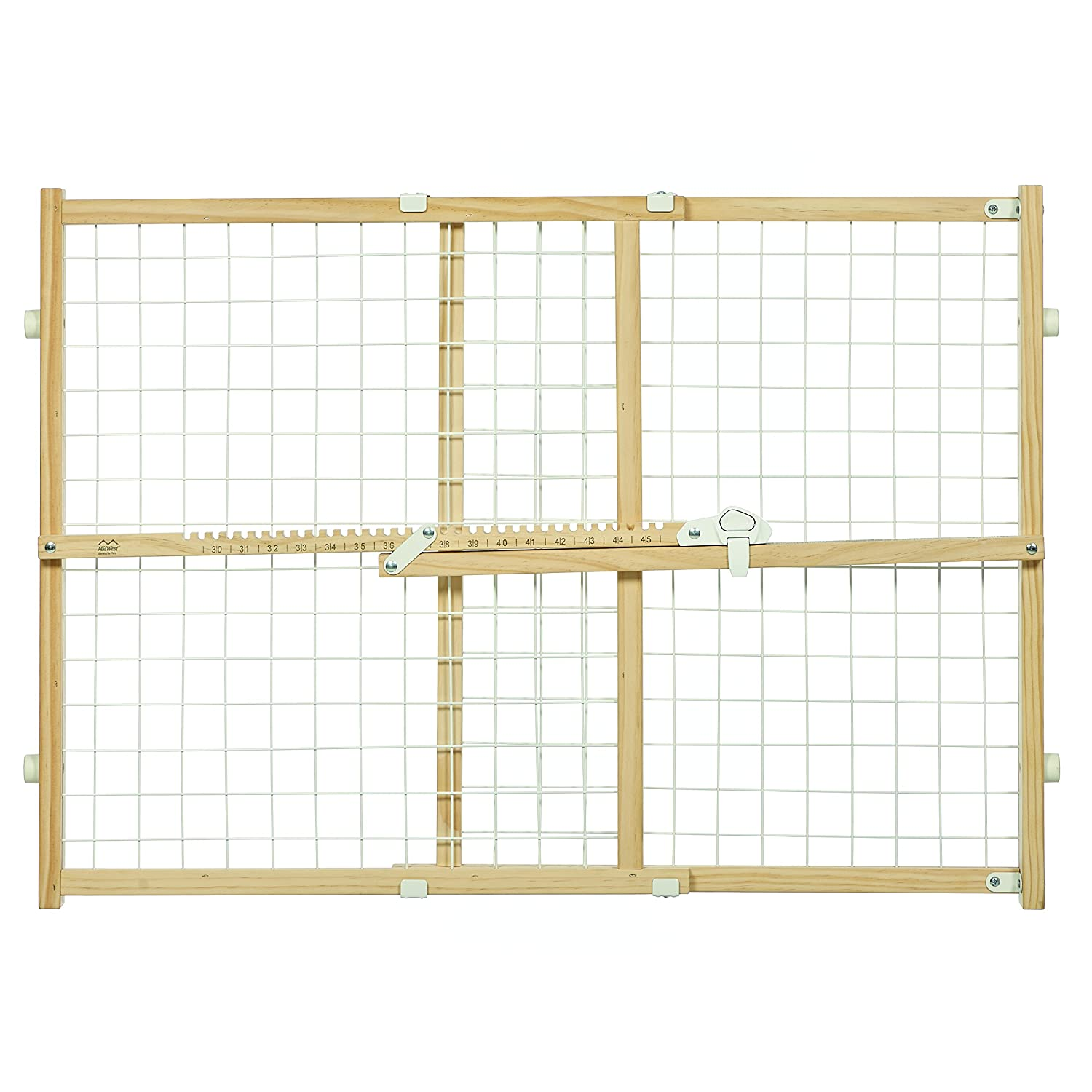 Midwest Homes for Pets Wire Mesh Pet Safety Gate, 44 Tall and Expands 29-50 Wide, Large 2944WWM-2