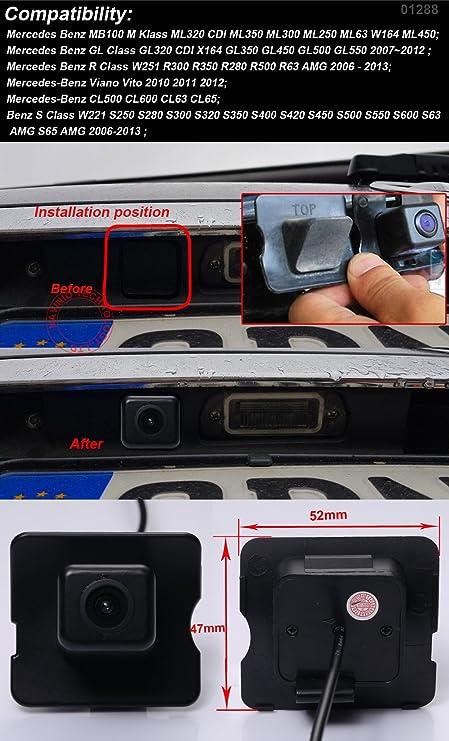 Farb Rückfahrkamera Einparkhilfe Mit Distanz Hilfslinien