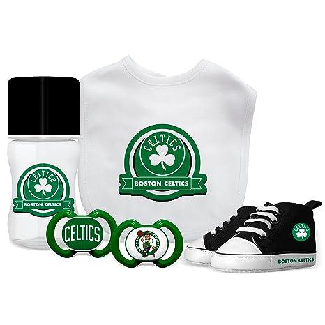 c4c83b920 Amazon.com   Baby Fanatic NBA Boston Celtics Unisex BCS5055 Piece Gift Set  - Boston Celtics