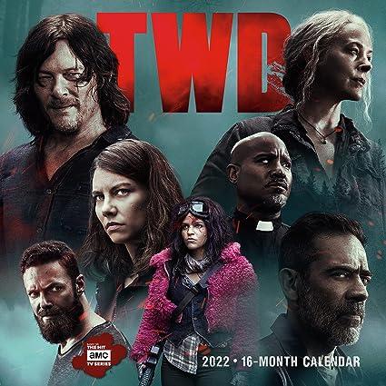 Walking Dead 2022 Calendar.O19hgj1nt7ojcm
