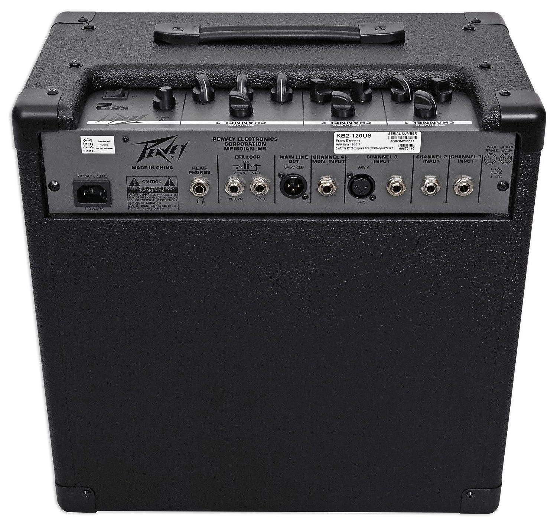 Amazon.com: Peavey KB 2 50 Watt Keyboard Amplifier 3-Channel Combo Amp w/10