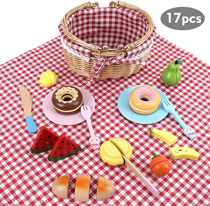 Top 10 Play Food With Basket And Plates
