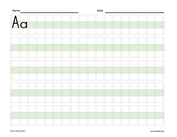 Counting Number worksheets letter trace worksheets : Amazon.com : 2 Pak! Save cost on shipping! Channie's EASY PEASY ...