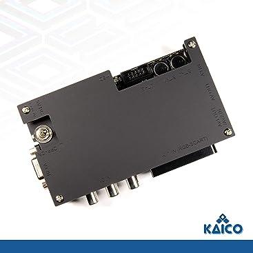 OSSC Open Source Scan Converter 1.6 con SCART Componente VGA a HDMI para Juegos retroactivos - Kaico Edition