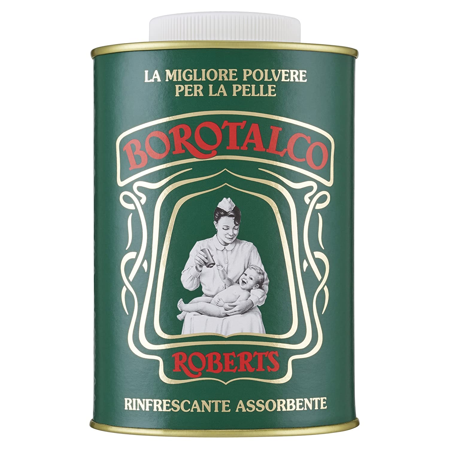Kalastyle Borotalco Powder Antique Tin, 500g 909