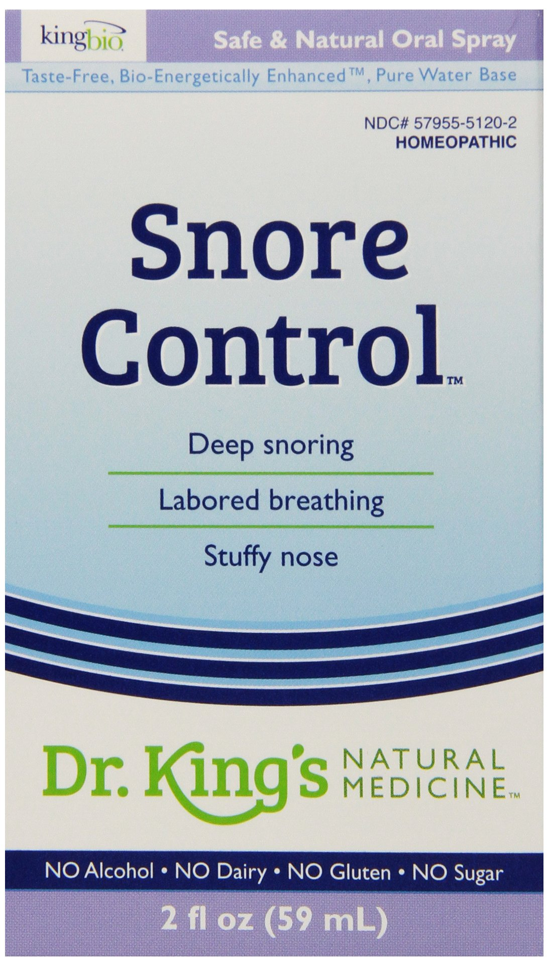 Amazon.com: Dr. King\'s Natural Medicine Snore Control, 2 Fluid Ounce ...