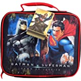 DC Comincs Batman v Superman Dawn of Justice Insulated Soft Lunch Bag