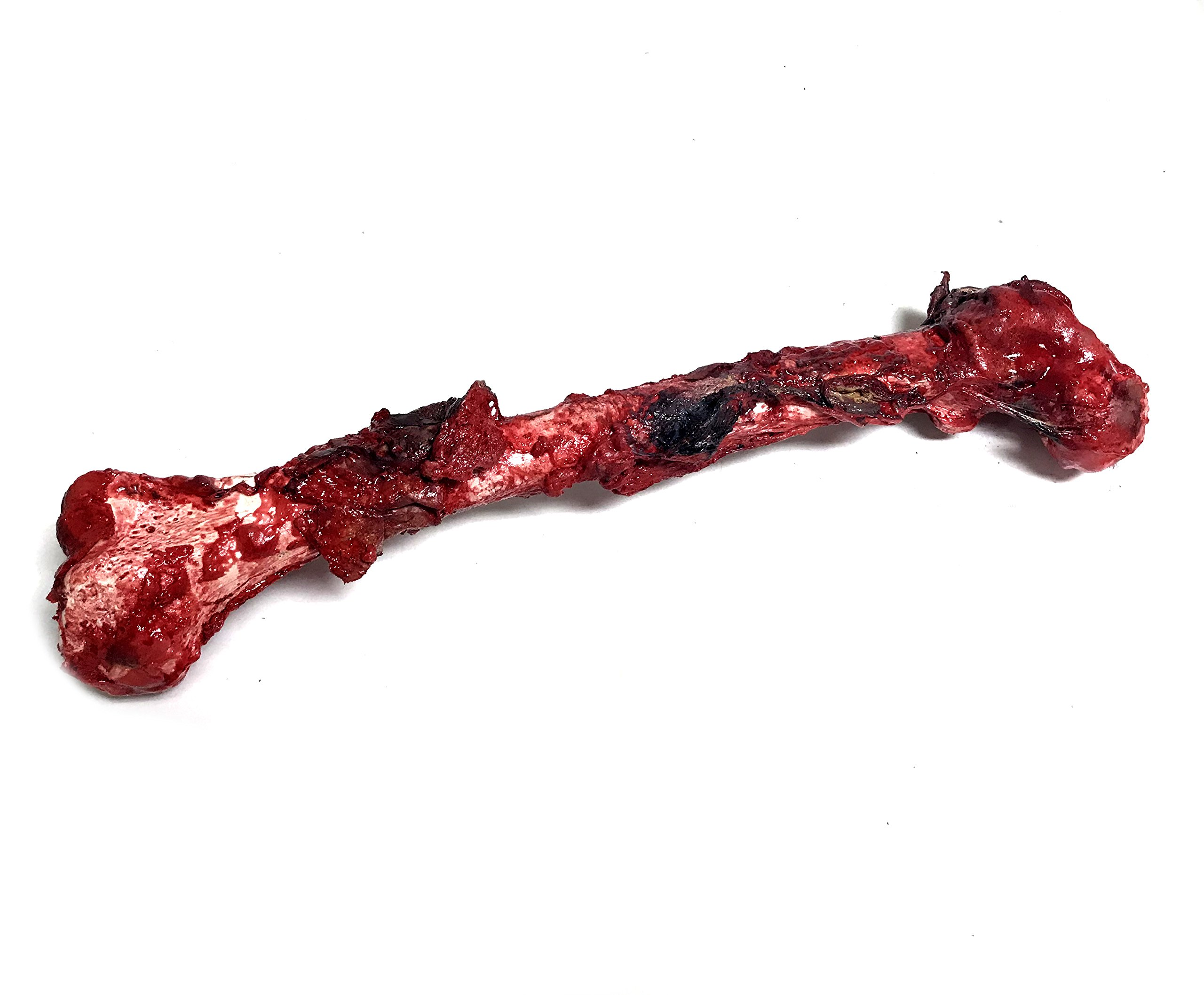 NewRuleFX Bloody, Grisly Femur Bone with Skin and Gore - Full Size FX Prop by NewRuleFX (Image #2)