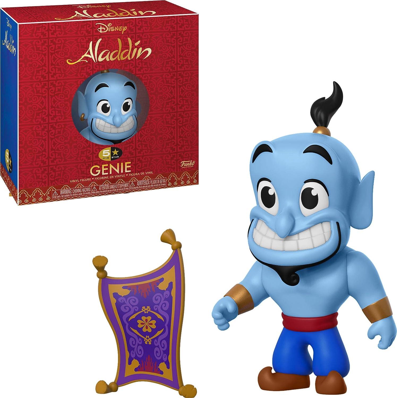 Funko- 5 Star: Aladdin: Genie 5 Estrellas, Multicolor, Talla única (35763)