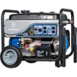 Westinghouse WH7500E Portable Generator - 7500 Running Watts and 9000 Starting Watts - Gas Powered - Electric Start