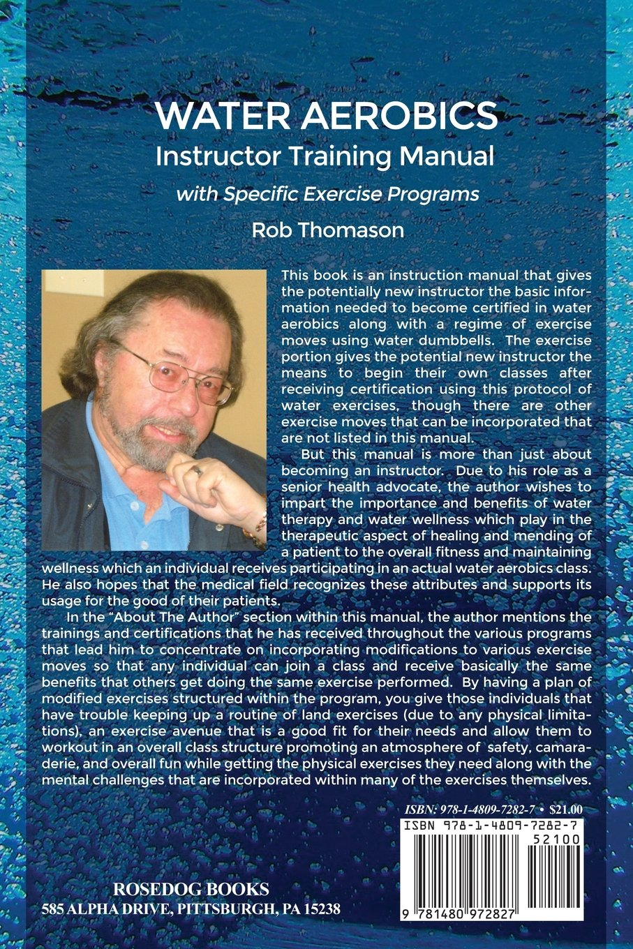 Water aerobics instructor training manual with specific exercise water aerobics instructor training manual with specific exercise programs rob thomason 9781480972827 amazon books 1betcityfo Image collections
