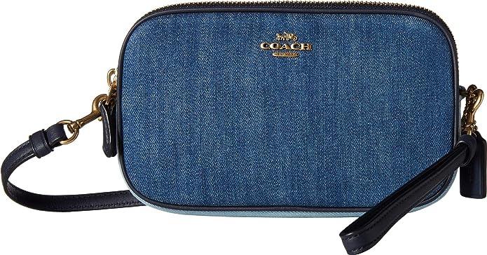 Amazon.com: COACH Denim Sadie, Azul, talla única: Shoes