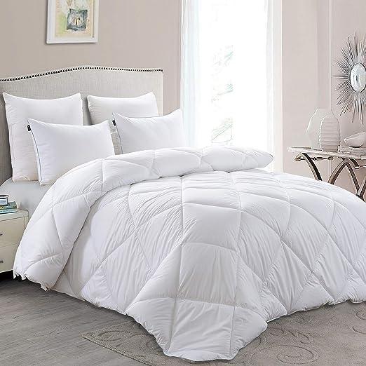 Amazon Com Basic Beyond Lightweight Down Comforter Duvet Insert