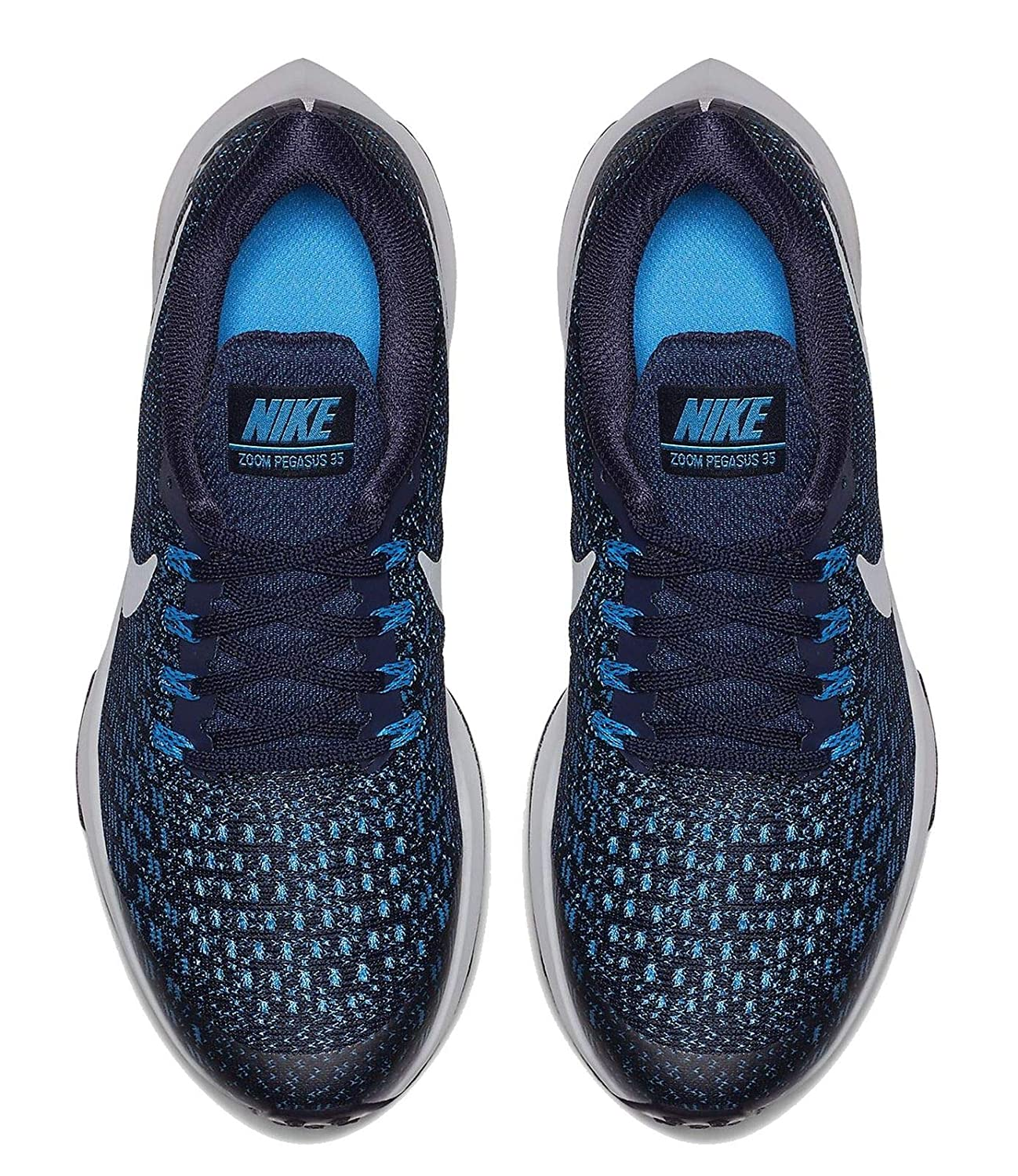 check out 7ef2d 8d3a9 Nike Air Zoom Pegasus 35 (GS) - Blackened Blue Pure B Platine  Amazon.fr   Sports et Loisirs