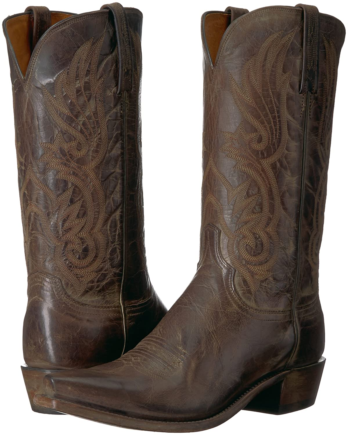 954d381a9a Lucchese Bootmaker Hombres Whittaker Western Boot Cacao antiguo