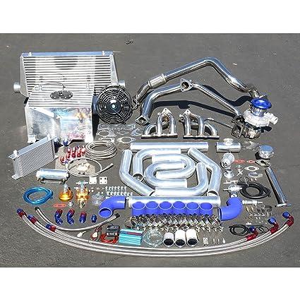 Amazon.com: For Mazda MX6/Ford Probe V6 High Performance 25pcs T04E Turbo Upgrade Installation Kit: Automotive
