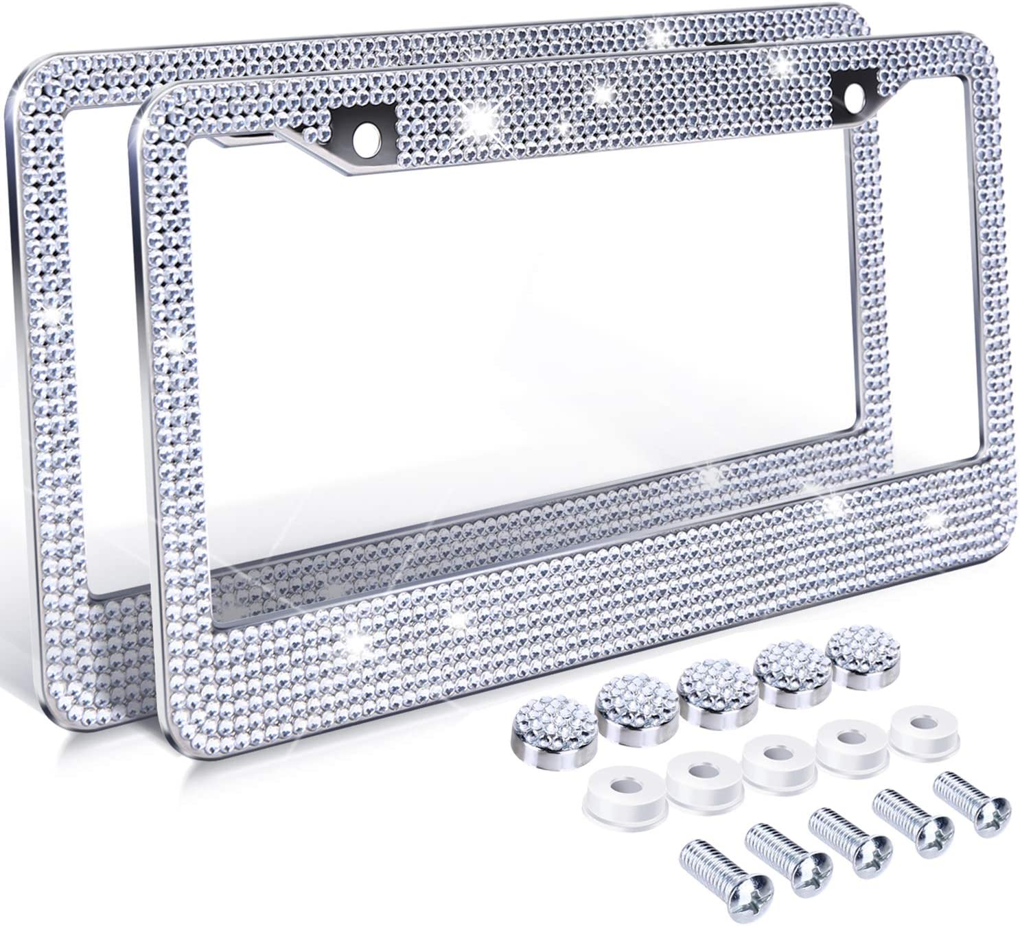 Chrome License Plate Frame YOU/'RE GOING TO NEED A BIGGER BOAT Auto Accessory