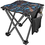 JKSA Assassins Creed Camping Stool Folding Portable Outdoor Slacker Chair Folding Campings Stool Suitable for Outdoor Travel Hiking