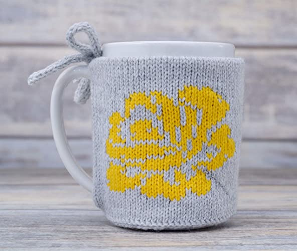 Amazon Coffee Cozy Mug Warmer Yellow Flower Tea Cup Cosy Teacup
