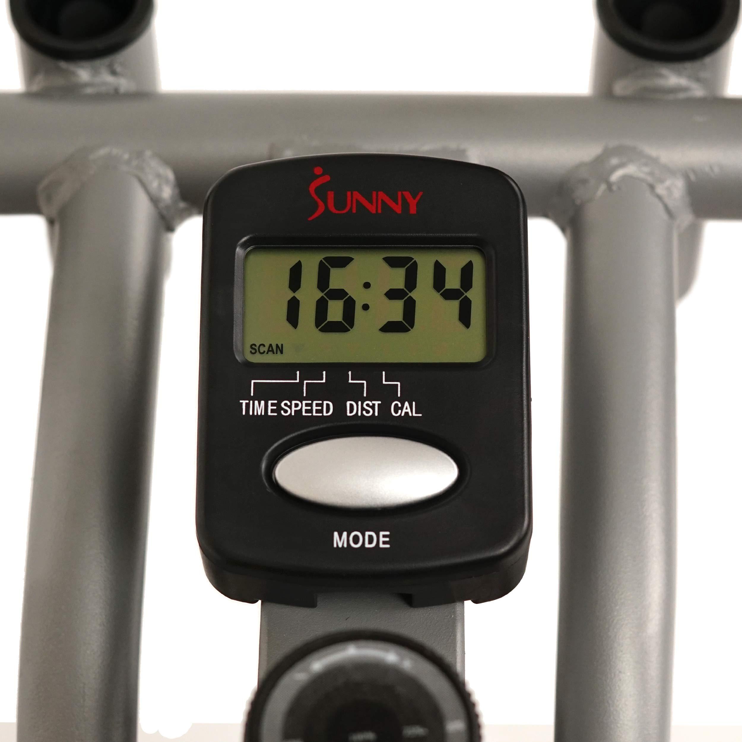 Sunny Health & Fitness SF-E1405 Flywheel Elliptical Trainer, Gray by Sunny Health & Fitness (Image #10)