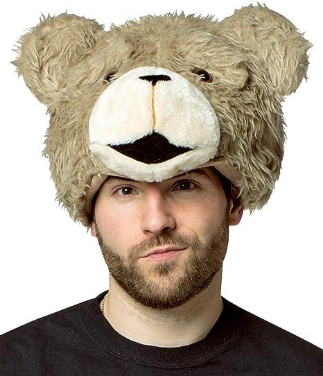 Amazon.com  Rasta Imposta Cuddly Teddy Bear Ted 2 Movie Plush Hat Headpiece  Halloween Accessory  Clothing 61beb4063bc5