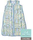 Aden + Anais (エイデンアンドアネイ) 【日本正規品】 バンブースリーピングバッグ (スリーパー) wild one - batik tile bamboo sleeping bag (L) 9260