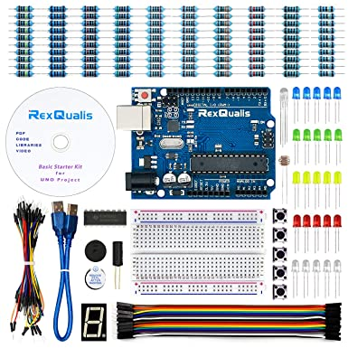 REXQualis Arduino UNO Project Basic Starter Kit for Arduino