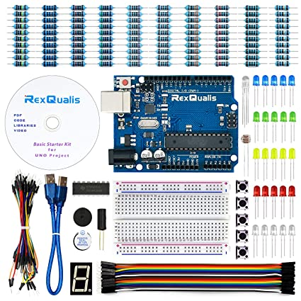 Prime Amazon Com Rexqualis Arduino Uno Project Basic Starter Kit For Wiring Digital Resources Llinedefiancerspsorg