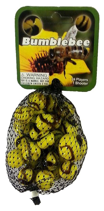 Net bag 24 Collectible Marbles,1 Shooter Penguin Mega Marble