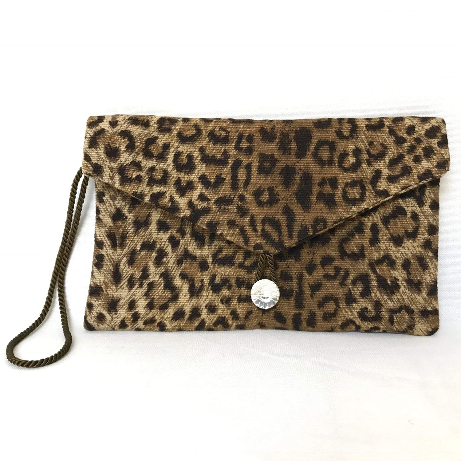 225e1feca7400b Vegan Leopard Wristlet - NO RULES COLLECTION. Vegan Leopard Wristlet - NO  RULES COLLECTION · Pouch Front