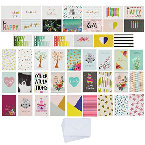 144 Pack All Occasion Greeting Cards